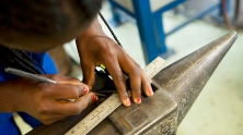 Student at a vocational training center in Namibia. © John Hogg/World Bank